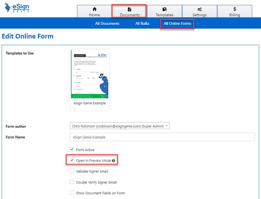 edit online form