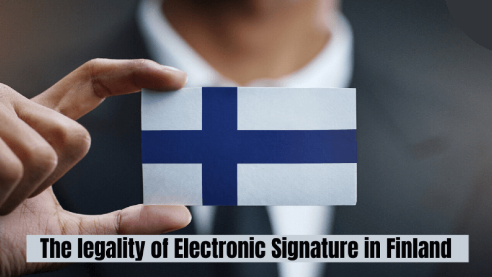 Electronic-Signature-in -Finland