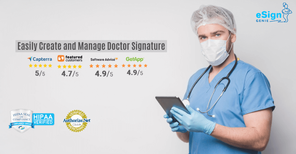 Easily Create and Manage Doctor Signature